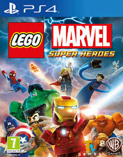 Lego Marvel Super Heroes PS4 Playstation 4 IT IMPORT WARNER BROS