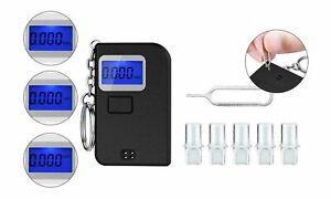 Keychain Breathalyzer, Portable Keyring Breath Alcohol Tester