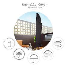 Funda Protectora Cubierta para Parasol Sombrilla Paragua Lluvia Nieve Terraza