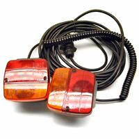 Magnetic Trailer or Caravan Lighting Board / Car Recovery Lights 10m Cable TR0
