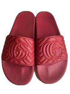 Gucci Slides Men - Red Size 10