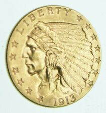 1913 $2.50 Indian Head Gold Quarter Eagle - Walker Coin Collection *964