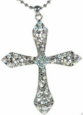 Premier Designs Angelina Crystal Cross Necklace