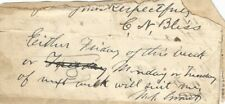 Ulysses S. Grant - Autograph Note Signed - To William McKinley's Cabinet Member