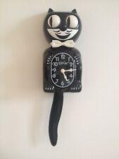 Classic Black Kit-Cat Wall Clock