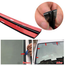 3Meter T-Type Rubber Car Windshield Edge Moulding Sealing Strip Soundproof Black