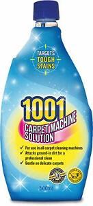 1x 1001 Carpet Machine Shampoo 500ml 3in1 Professional Clean