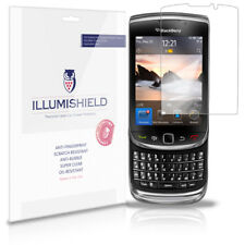 iLLumiShield Anti-Bubble/Print Screen Protector 3x for BlackBerry Torch 9810