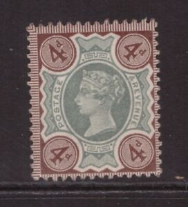 Queen Victoria 1887 Jubilee 4d SG 205 MINT NEVER HINGED MNH