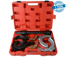 Fork Strut Coil Clamp Spring Compressor Macpherson Tool Set Kit Auto Garage JAW