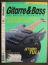GITARRE & BASS 1999 # 10 - JETHRO TULL MACHINE HEAD RICHIE KOTZEN RORY GALLAGHER