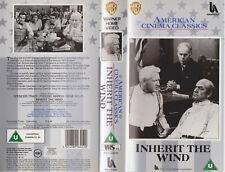 Inherit The Wind (1960) Spencer Tracy Gene Kelly UK PAL VHS **RARE**