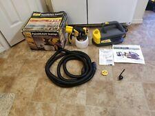 Wagner HVLP PaintReady Sprayer Station Electric Spray Gun Indoor Outdoor 0529017