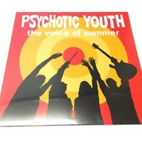 Psychotic Youth 'The Voice Of Summer' Superb Punk/Surf NEW SEALED 2017 Vinyl LP