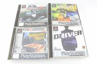 Sony PS1 Playstation V-Rally Driver Demolition Racer Forumla 1 98 PAL UK