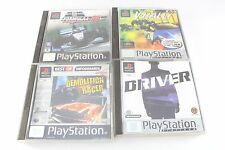 Sony PS1 Playstation V-Rally Driver Demolition Racer Forumla 1 98 PAL UK