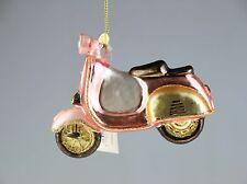 Dekohänger Christbaumschmuck - fanciful Design - Pink Scooter Weihnachten XMAS