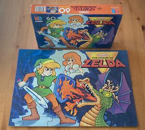 Vtg RARE 1988 The Legend of Zelda LINK & DRAGON Jigsaw Puzzle Nintendo '80s!