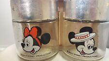 Mickey & Minnie Mouse Disney Salt & Pepper shakers