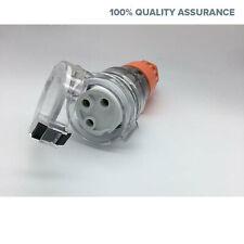 20 AMP 240V 3 Pin Female Plug Socket Outlet Weatherproof Plugs Extension