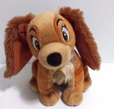 "Disney Lady and the Tramp Plush Dog Just Play 6"" Lady EUC"