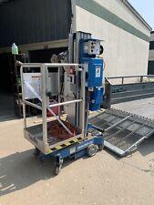 Genie Awp 20s Electric Vertical Mast Man Lift