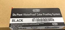 Dupont 22X28 Waterproof Color Proofing Sheets Black Wp4Pbk G05845