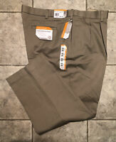 SAVANE* Mens Khaki Casual Pants * Size 44 x 30 * NEW WITH TAGS