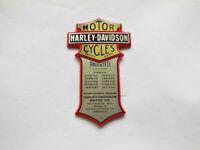 Harley Davidson Nostalgic Medallion Emblem für z.B. Batterie / Sissy Bar 66041