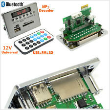 New 12V LCD Car SUV Bluetooth MP3 Decoder Board Audio USB SD FM + Remote Control