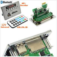 New 12V LCD Car SUV Bluetooth MP3 Decoder Board Audio USB SD FM + Remote Control