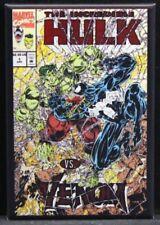 """The Incredible Hulk Vs. Venom #1 Comic Book 2"""" X 3"""" Fridge Magnet. Marvel"""