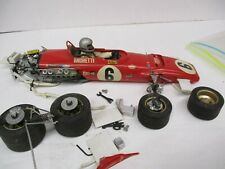 Vintage Mario Andretti Indy Car Model Kit For Repair or Parts
