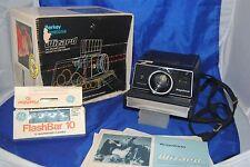 1970 Keystone Wizard XF 1000 instant camera by Berkey w/ original box & manuals