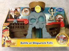 New Fisher Price Disney Jake and the Neverland Pirates Battle at Shipwreck Falls