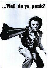 "DIRTY HARRY MOVIE POSTER - WELL DO YA PUNK? - CLINT EASTWOOD 91x61 cm 36""x24"""
