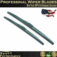 "19"" & 17"" Premium Windshield Wiper Blades  OEM Quality J-Hook Bracketless NEW"