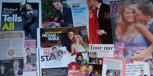 Michael Bublé 39 pc German Clippings Collection