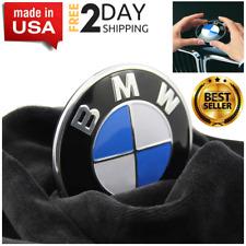 BMW Logo Emblem Replacement Hood Trunk 82mm E30 E36 E46 E34 E39 E60 E65 & Mo