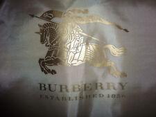 Original Burberry Taft Trench Coat Kurzmantel 40/42 uk14 schwarz Kapuze NEU OVP