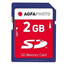 AGFA SD Memory Card 2GB Class 0 (10403) Speicherkarte (worldwide*) NEU 005-405