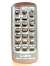 CANON CAMCORDER REMOTE CONTROL WL-D85 for ELURA 80 OPTURA 600