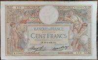 Billet 100 francs LUC OLIVIER MERSON 23 = 4 = 1936 FRANCE E.51022