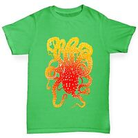 Twisted Envy Boy's Octopus Tentacles Cotton T-Shirt