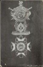 Chicago 1910 Medals Grand Encampment of the Us Maxx Rigot Postcard