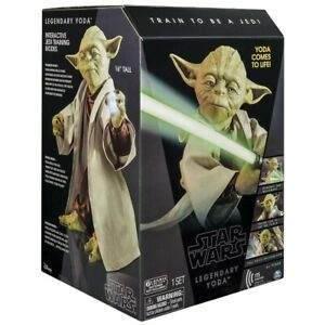 Star Wars Legendary Jedi Master Yoda Interactive Talking Action Figure - NEW