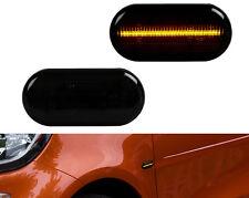 2 X LED SEITENBLINKER BLINKER SMOKE SCHWARZ Smart ForTwo Typ 453 SB23