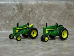Ertl 1/64 John Deere 620 & 720 Tractor Farm Toy Antique