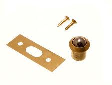 100  QTY OF BRASS BODY ROLLER BALL DOOR CATCH 10MM + SCREWS