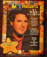 1998 Print Ad for Vince Gill Tour`CMT`Country Singer (021314)